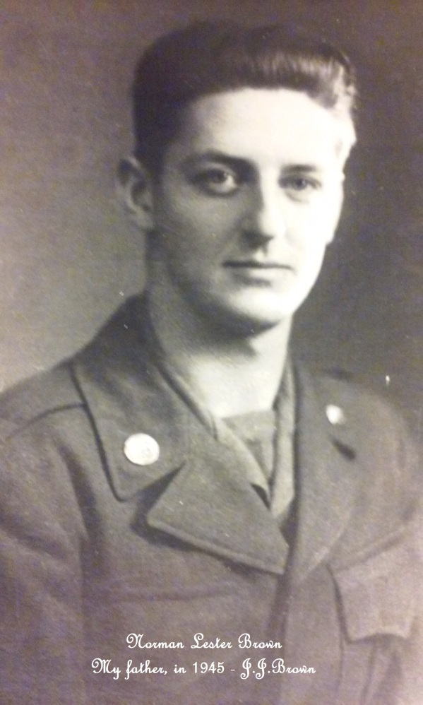 Norman Lester Brown 1945, father of J.J.Brown